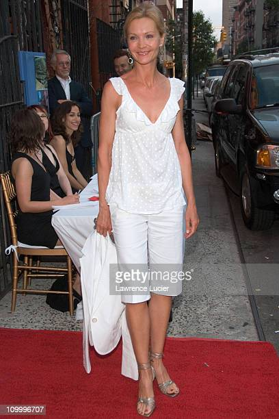 Joan Allen during The Omen New York Advanced Screening Hosted by The Cinema Society and DKNY Jeans May 31 2006 at Angel Orensanz Foundation in New...