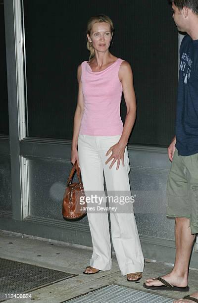 "Joan Allen during Tribeca Film Festival ""World Trade Center'' New York Screening at Tribeca Cinemas in New York City, New York, United States."