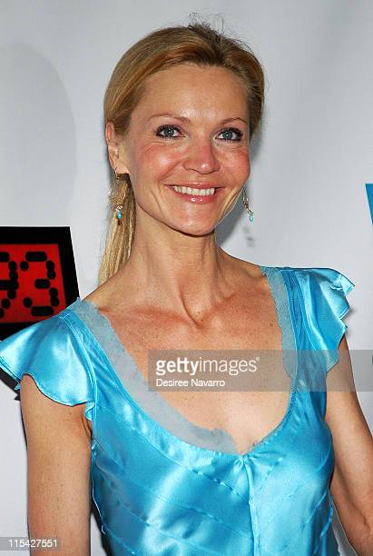 Joan Allen during United 93 New York Premiere Arrivals at Ziegfeld Theater in New York City New York United States