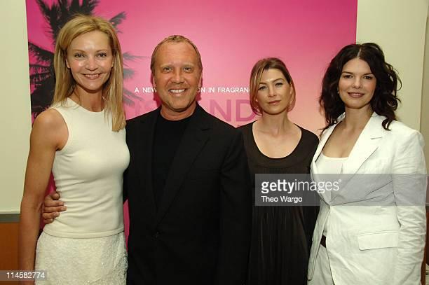 Joan Allen, Michael Kors, Ellen Pompeo and Jeanne Tripplehorn