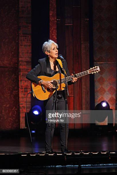 Joan Baez 75th Birthday Celebration at Beacon Theater on Wednesday night January 27 2016This imageJoan Baez performing Seven Curses