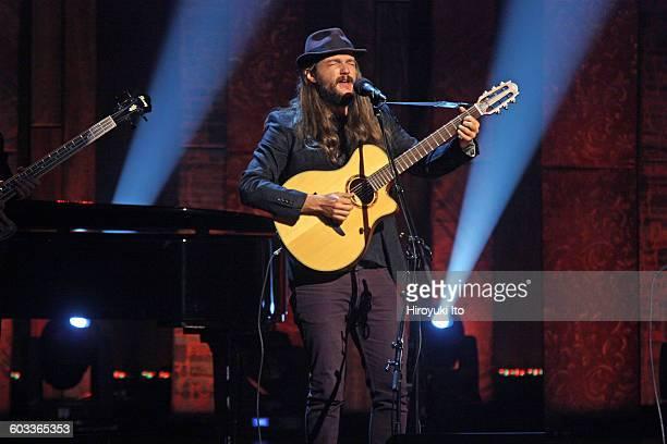 "75th Birthday Celebration"" at Beacon Theater on Wednesday night, January 27, 2016.This image:Nano Stern performing ""Gracias a la Vida."""