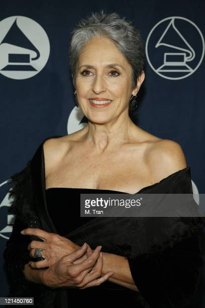 Joan Baez during The Recording Academy Hosts GRAMMY Special Merit Awards Arrivals at Wilshire Ebell Theatre in Los Angeles California United States