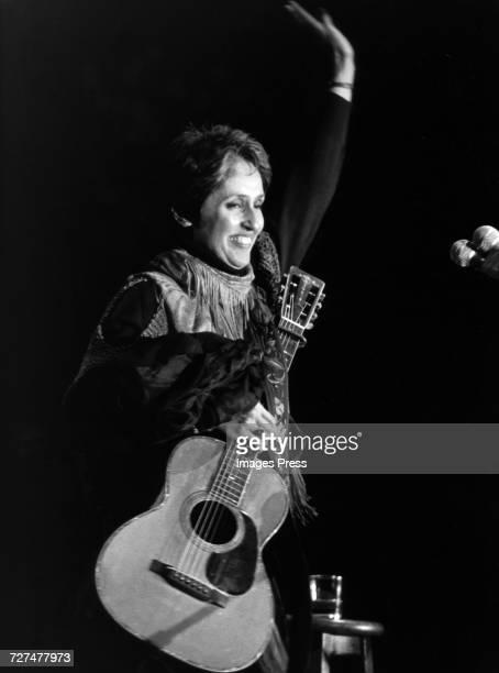 Joan Baez in concert circa 1980s