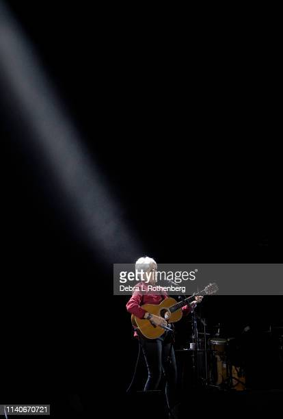 Joan Baez performs live at The Beacon Theatre during her Fare Thee WellTour 2019 on May 1 2019 in New York City