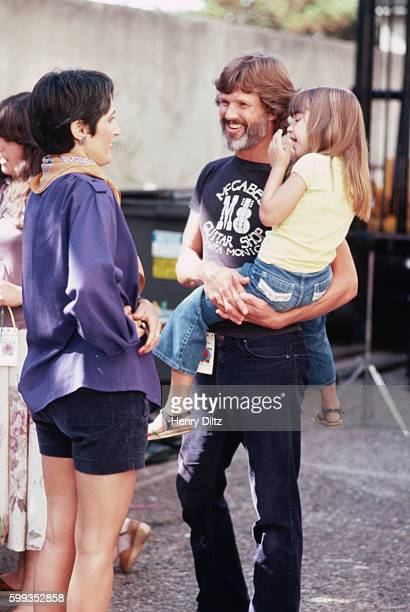 Casey kristofferson stock photos and pictures getty images joan baez talks to kris kristofferson and his daughter casey backstage at the bread roses concert altavistaventures Gallery