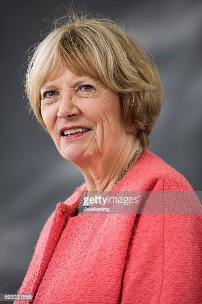 Joan Bakewell attends the Edinburgh International Book Festival on August 21 2016 in Edinburgh Scotland The Edinburgh International Book Festival is...