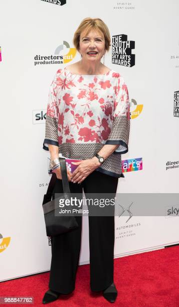 Joan Bakewell attends The Southbank Sky Arts Awards 2018 at The Savoy Hotel on July 1 2018 in London England