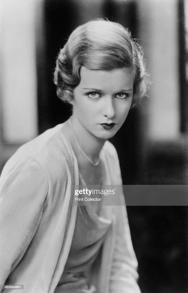 Joan Bennett (1910-1990). American actress, 20th century. : ニュース写真