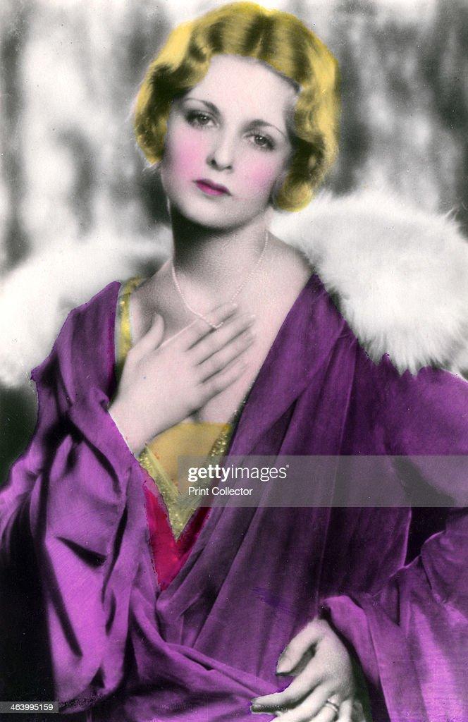 Joan Bennett (1910-1990). American actress, 20th century. : ニュース写真