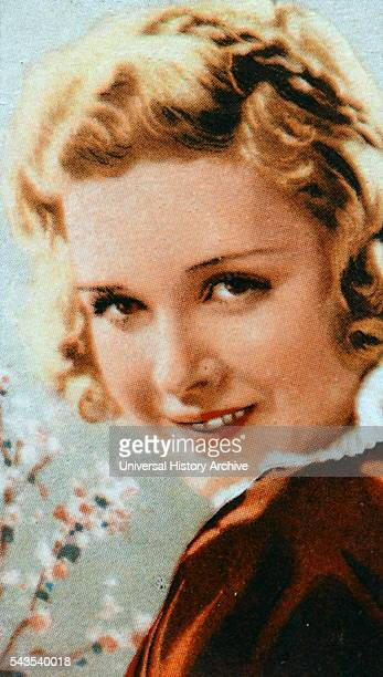 Joan Bennett an American stage film and television actress Dated 20th Century