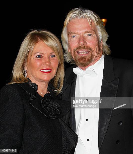 Joan Branson and Sir Richard Branson arrive at Buckingham Palace to attend a reception hosted by Queen Elizabeth II for Members of the Diplomatic...