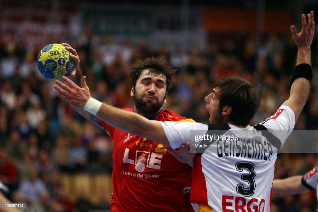 Spain v Germany - Men's Handball World Championship : News Photo
