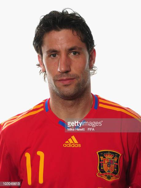 Joan Capdevila of Spain poses during the official Fifa World Cup 2010 portrait session on June 13 2010 in Potchefstroom South Africa