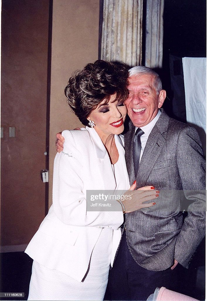 Joan Collins & Aaron Spelling during Pacific Palisades - Premiere Party in Los Angeles, California, United States.