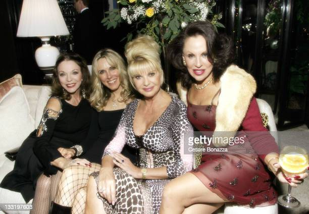 Joan Collins Alana Stewart Ivana Trump and Nikki Haskell