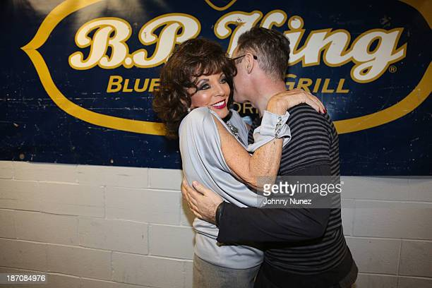 Joan Collins and Alan Cumming attend BB King Blues Club Grill on November 5 2013 in New York City