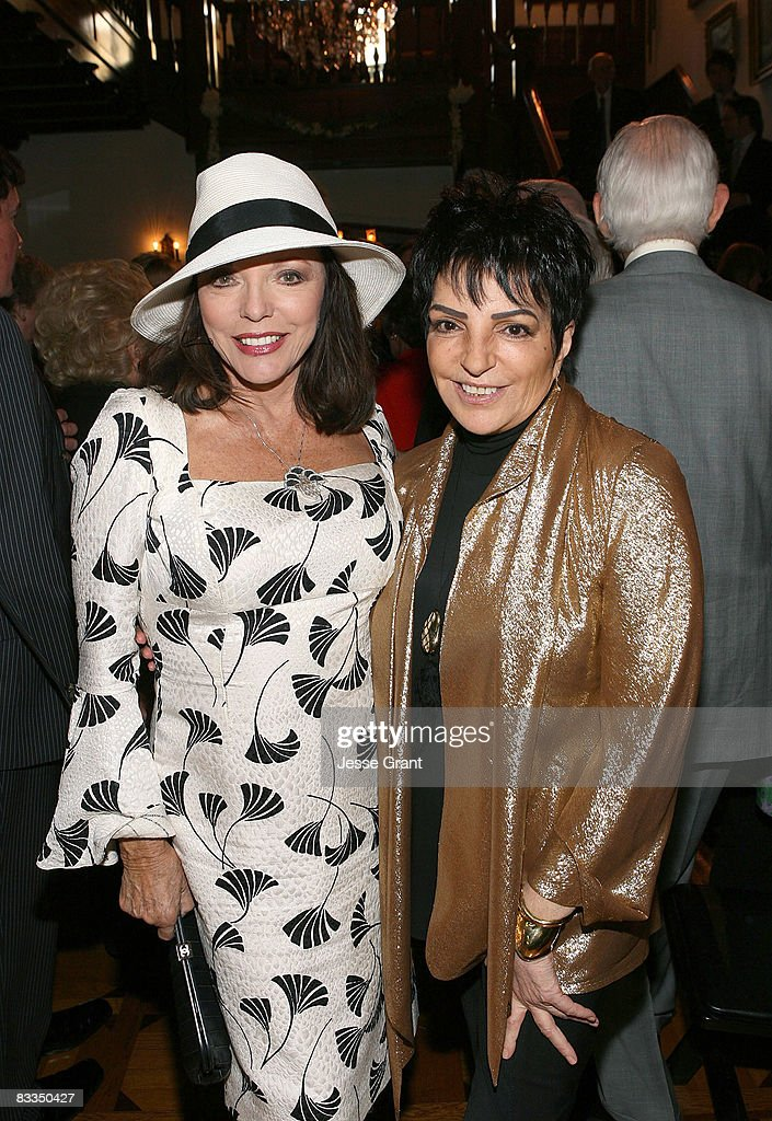 Joan Collins And Liza Minnelli Attend The Wedding Of Michael Feinstein Terrence Flannery Held At