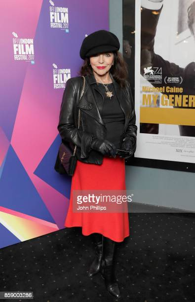 Joan Collins attends a screening 'My Generation' during the 61st BFI London Film Festival on October 8 2017 in London England