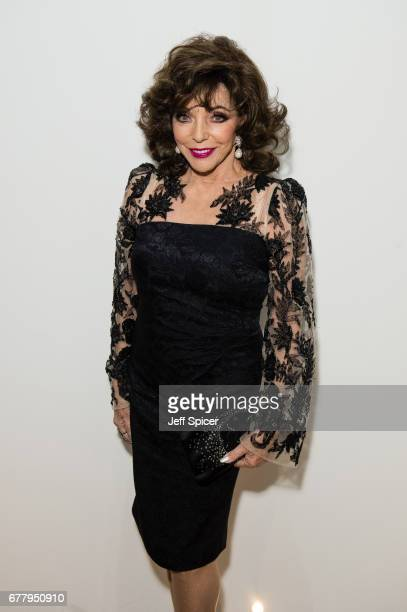 Joan Collins attends as auction house hosts champagne reception to preview a selection of the 1000lot estate of the late author Jackie Collins ahead...