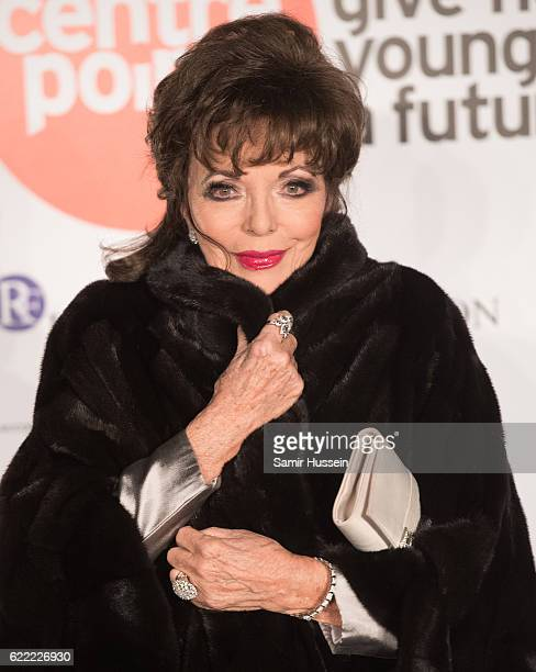 Joan Collins attends Centrepoint At The Palace at Kensington Palace on November 10 2016 in London England