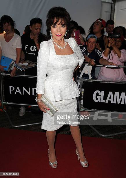 Joan Collins attends Glamour Women of the Year Awards 2013 at Berkeley Square Gardens on June 4 2013 in London England
