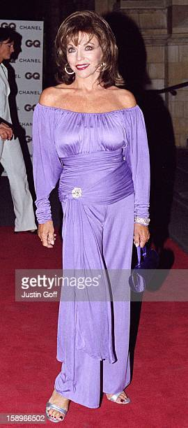 Joan Collins Attends The 2001 Gq Magazine 'Men Of The Year' Awards At London'S Victoria And Albert Museum