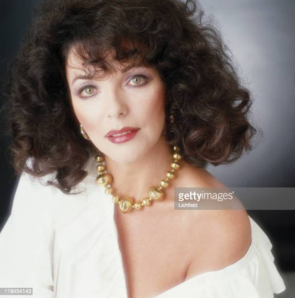 Joan Collins British actress and writer 30th June 1981
