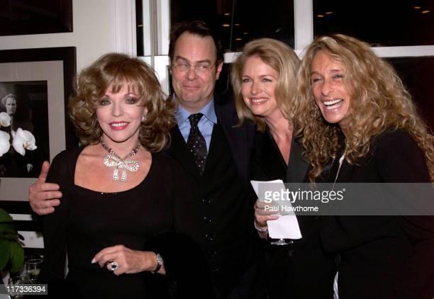 Joan Collins, Dan Aykroyd, Donna Dixon and Ann Dexter-Jones