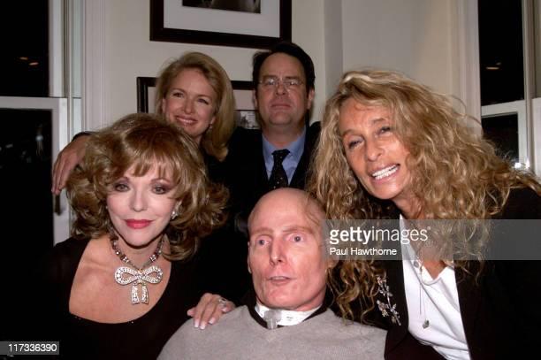 Joan Collins, Donna Dixon, Dan Aykroyd, Ann Dexter-Jones and Christopher Reeve