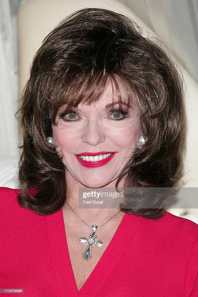 """An Evening with Joan Collins"" Press Launch and Photocall"