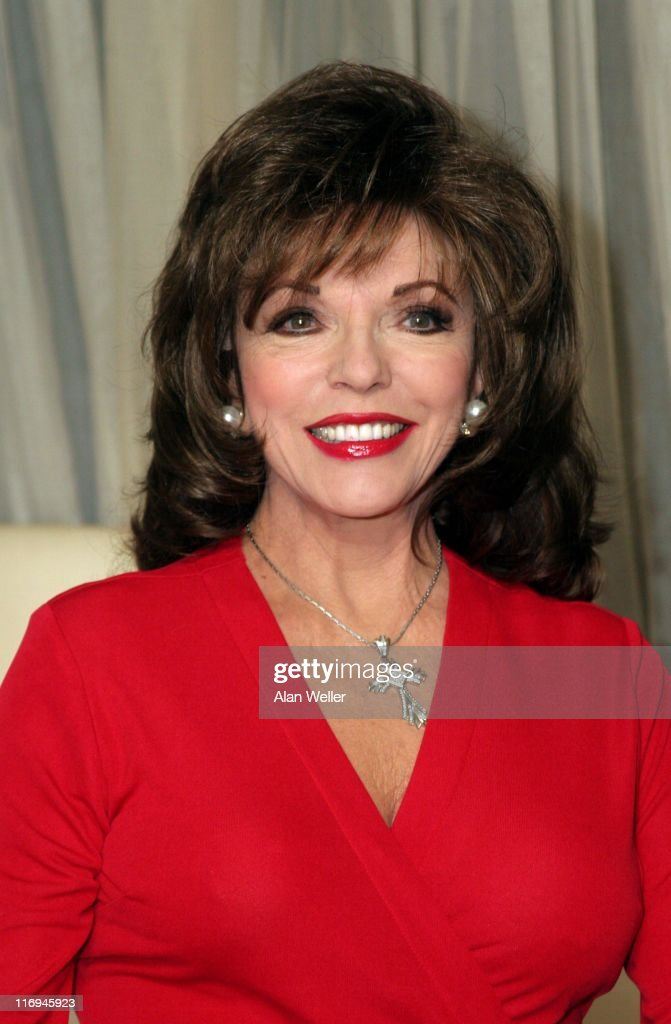 Joan Collins during 'An Evening with Joan Collins' Press Launch and Photocall at Tantra club 62 Kingly Street in London, Great Britain.