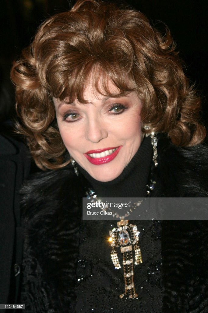 Joan Collins during 'Dirty Rotten Scoundrels' Broadway Opening Night at The Imperial Theater in New York City, New York, United States.