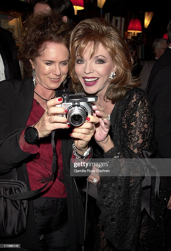 Joan Collins during New York Oscar Night Party at Le Cirque 2000 in New York City, New York, United States.