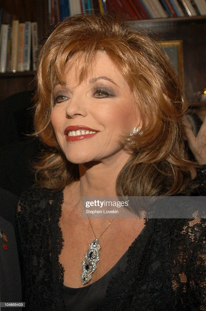 Joan Collins during Official 2003 Academy of Motion Picture Arts and Sciences Oscar Night Party at Le Cirque 2000 at Le Cirque 2000 in New York, NY, United States.