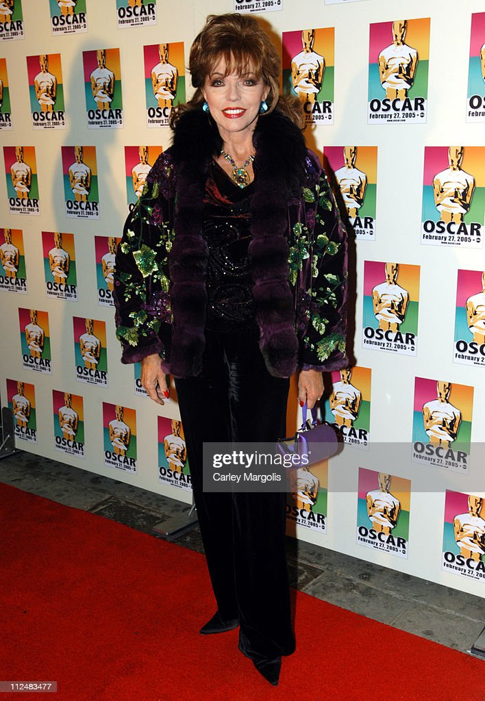 Joan Collins during Official 2005 Academy of Motion Picture Arts & Sciences Oscar Night Party at Gabriel's at Gabriel's Restaurant and Bar in New York City, New York, United States.