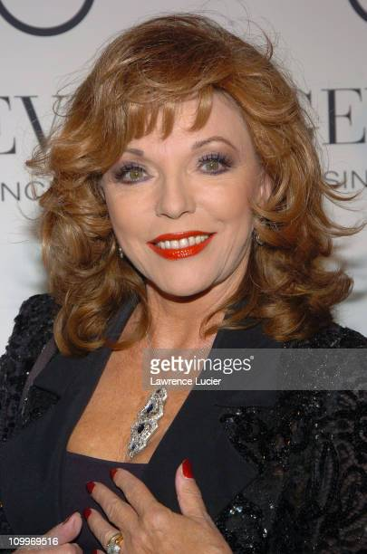 Joan Collins during The Opening of the Gevril Serenade of Time and Speed Racing Art and Photography Exhibit at The Tourneau Store in New York City...