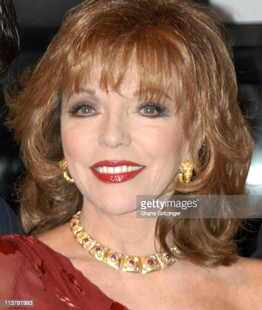 Joan Collins during 'Welcome Back to New York Joan Collins' Cocktail Reception Hosted by Andy Unanue at AER in New York City New York United States