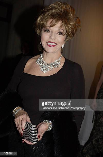 Joan Collins during 'Whitney Gala' at the Whitney Museum October 21 2002 at Whitney Museum in New York CIty New York United States