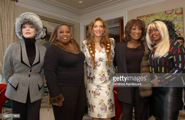 Joan Collins Star Jones Denise Rich Patti LaBelle and Janice Combs