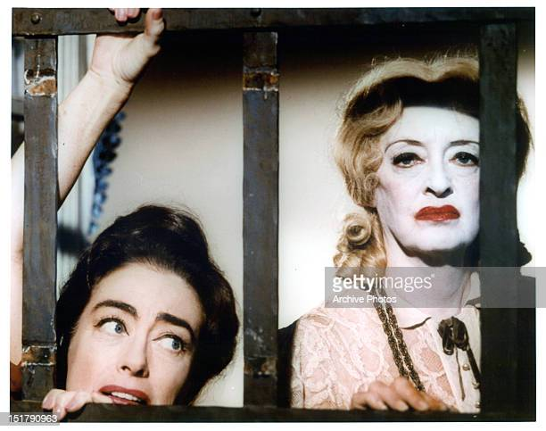 Joan Crawford and Bette Davis publicity portrait for the film 'What Ever Happened To Baby Jane' 1962