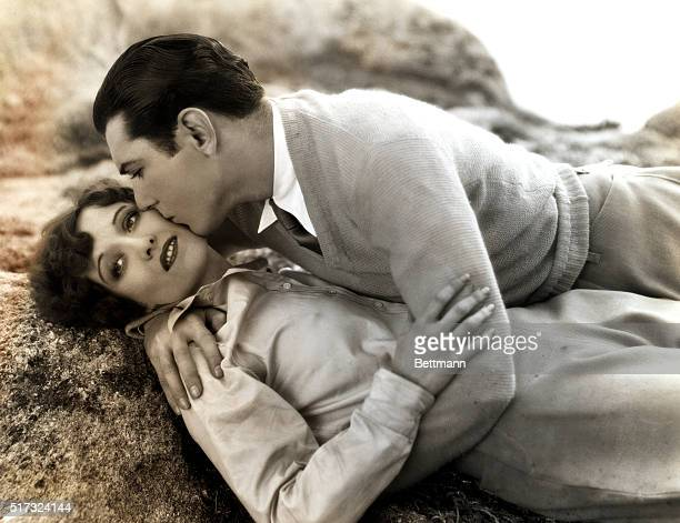 Joan Crawford and John Mack Brown in a scene from the movie Our Dancing Daughters A Cosmopolitan Production a Metro Goldwyn Mayer picture 1928 Movie...