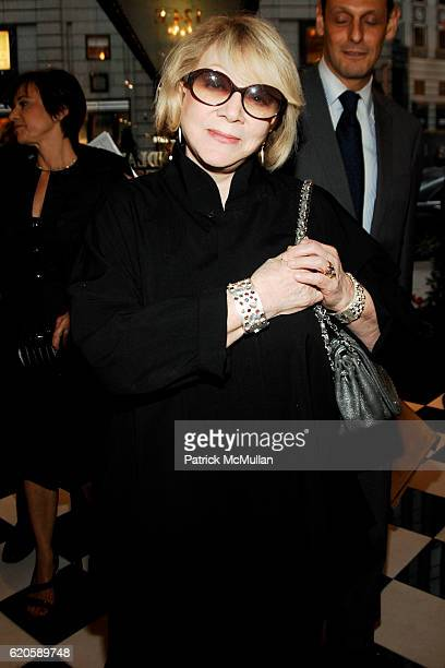 Joan Croan attends MICHAEL VOLLBRACHT Debuts Private Collection / Evening Preview at Wally Findlay Galleries on September 16 2008 in New York City