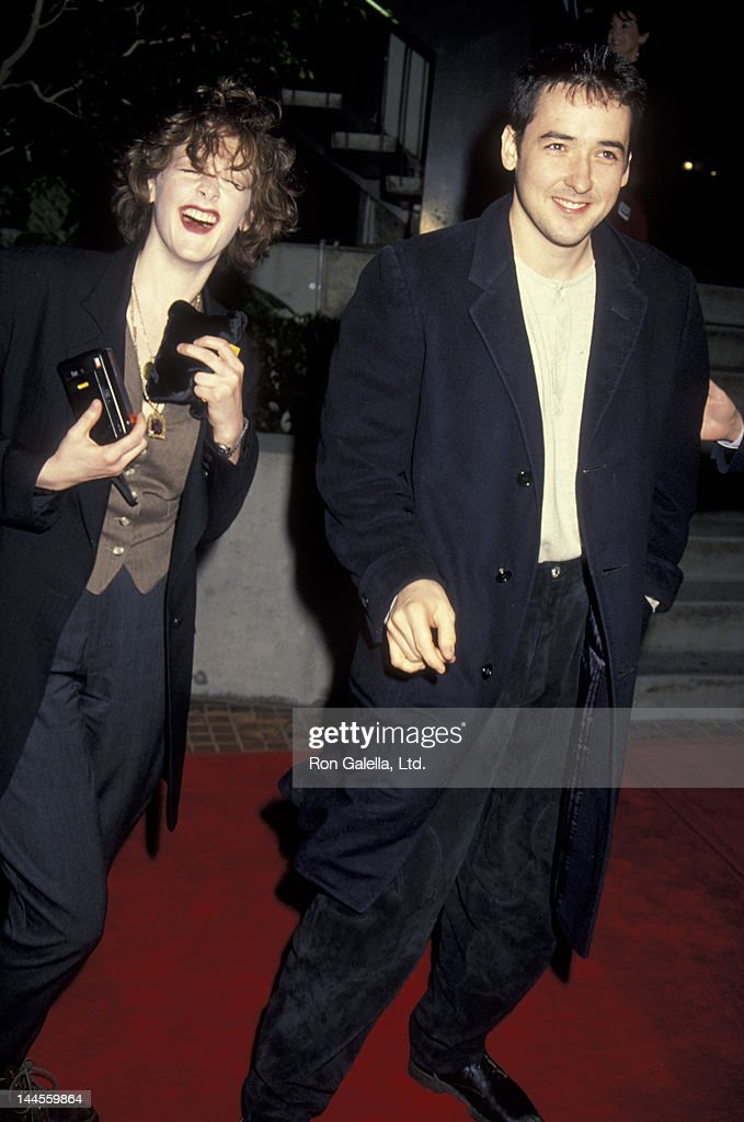 Joan Cusack And John Cusack Attend The Premiere Of Toys On
