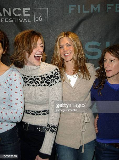 Joan Cusack Jennifer Aniston and Nicole Holofcener director