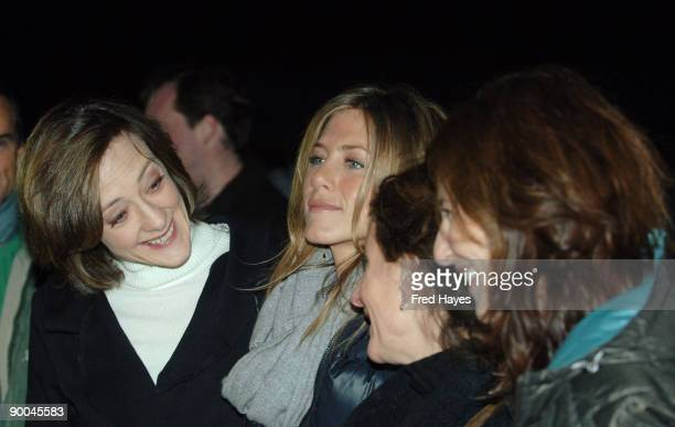 Joan Cusack Jennifer Aniston Nicole Holofcener director and Catherine Keener