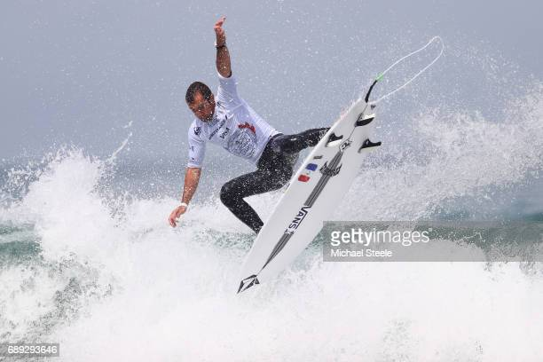 Joan Duru of France in action during the Men's Final on day nine of the ISA World Surfing Games 2017 at Grande Plage on May 28 2017 in Biarritz France