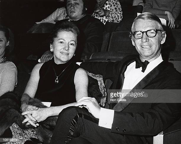 Joan Fontaine Husband during Preview of Hall of Fame NY at Uris Theater in New York City New York United States