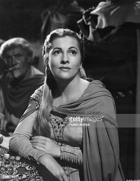 Joan Fontaine in the film 'Ivanhoe' directed by Richard Thorpe for MGM films