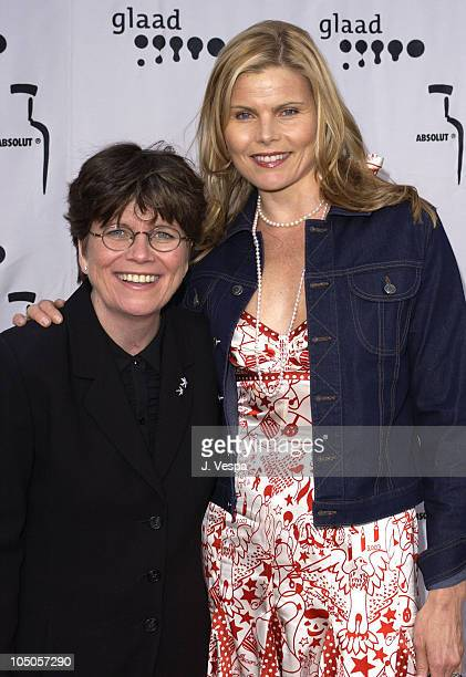 Joan Garry and Mariel Hemingway during The 14th Annual GLAAD Media Awards Los Angeles VIP Reception at Kodak Theatre in Hollywood California United...